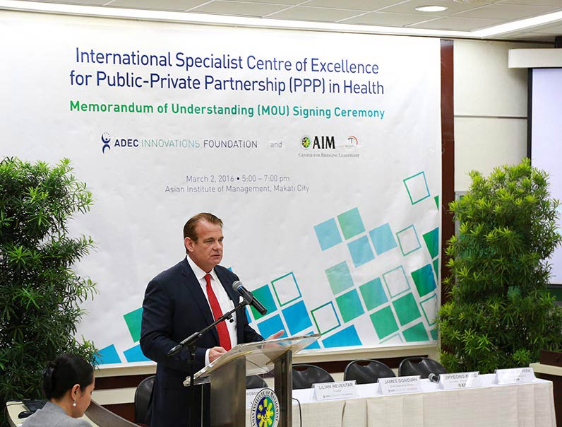 Donovan Calls for Transparency in Advancing PPP Initiatives Photo