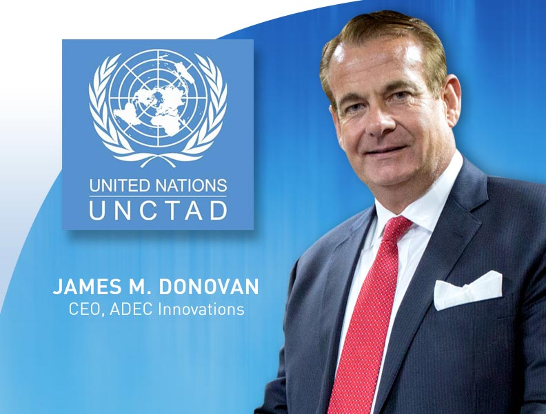Donovan's Insights at UNCTAD Help Set Agenda for UN Habitat III Conference Photo